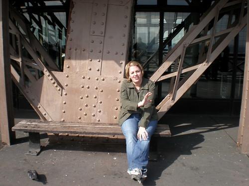 Finn on the Eiffel Tower