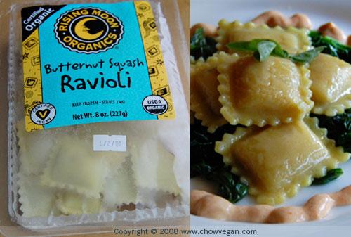 Rising Moon Organics Butternut Squash Ravioli