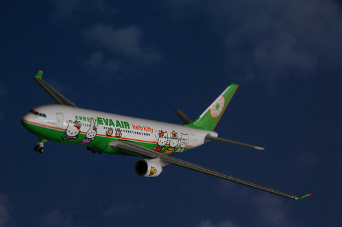 EVA Air A330-200 Kitty Jet