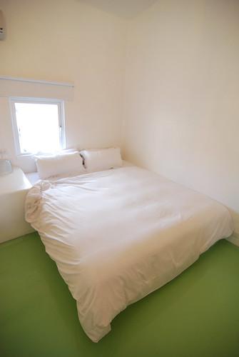 這是軟綿綿的床