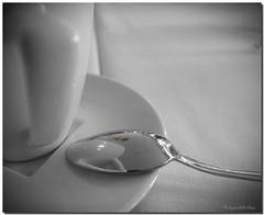 Rosa convexa... (SantiMB.Photos) Tags: españa cup coffee café rose festival reflections cutout table spain flickr rosa calafell spoon catalunya tablecloth 2008 plato taza mesa saucer tarragona reflejos mantel cuchara desaturado cucharilla abigfave exploracalafell
