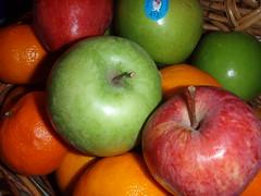 Apples! (Jacob Wighton) Tags: food orange fruit healthy basket apples colourartaward artlegacy