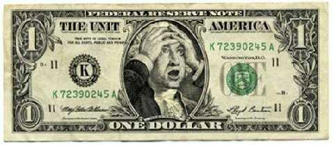 Recession Dollar bill