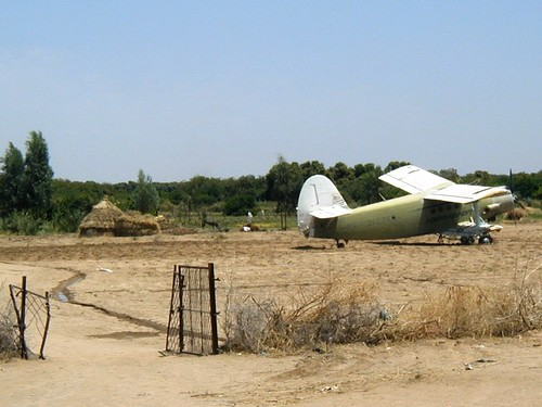 Aeroflot plane in Ethiopia