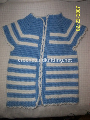 Learn How to Crochet a Toddler Sweater | FaveCraftsBlog