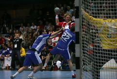 Norway - Iceland (ln-obt) Tags: sport norway norge handball drammen hndball euro2010qualification erlendmamelund