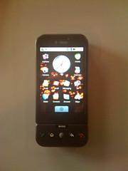 Googleのアンドロイドを搭載した携帯G1