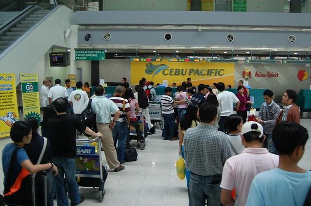 Cebu Pacific Long Queue at Davao Airport