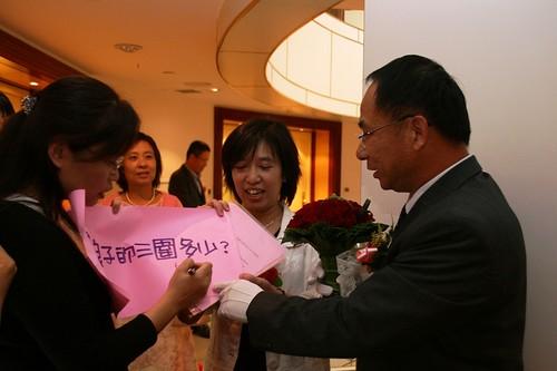 你拍攝的 20081110GeorgeEnya迎娶150.jpg。