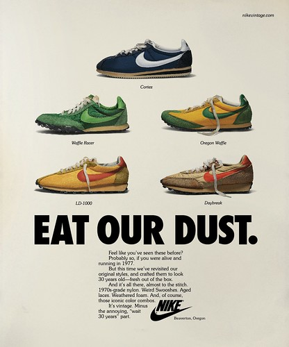 Nike Vintage Running_Advertising by opolis design.