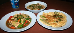 Thai 3 course meal