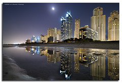 Low Tide Reflections (DanielKHC) Tags: longexposure digital interestingness high nikon bravo dubai dynamic uae explore range fp frontpage dri hdr blending d300 jbr dynamicrangeincrease interestingness42 4exp danielcheong bratanesque danielkhc explorefp explore15nov08 gettyimagesmeandafrica1