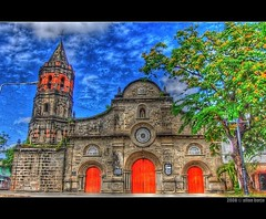 The Church On My Ten Peso Bill (frborj) Tags: church nikon philippines bulacan hdr unpopular barasoain malolos d40 tonemapped colorphotoaward frborj ourladyofmtcarmelparish