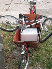 re-using and recycling with the bakfiets