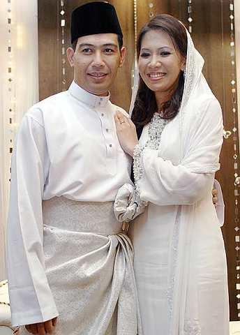 Dina ramli wedding