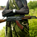 Addicted to Kalachnikov - Mursi Ethiopia par Eric Lafforgue