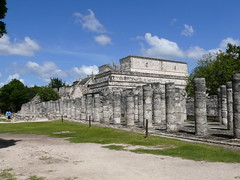 Magnificent Temple Of A Thousand Columns (Butch Osborne) Tags: city travel mexico temple ancient ruins maya culture yucatan mayan mayanruins historical traveling antiquity mustsee mayanculture yuccatan mayancity bucketlist