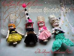 Custom Charlotte Dolls!