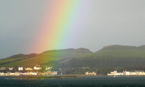 Rainbow on Millport 27Nov08