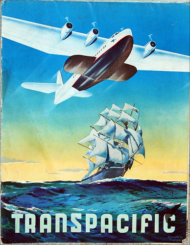 China Clipper, Pan American Airways brochure