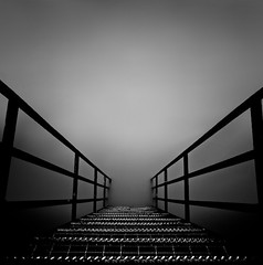 Perspective (johnny_no_hair) Tags: mono steps angles awsome rails ndx1000 johnoram