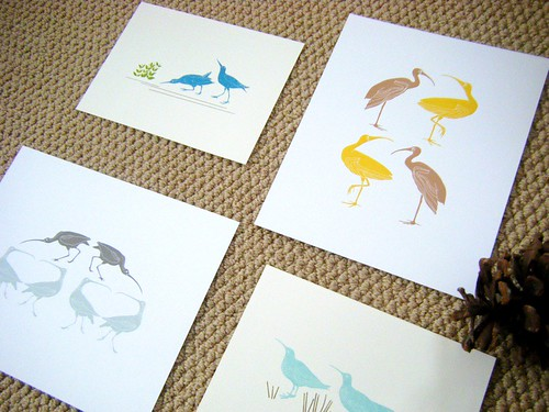 land birds series prints by you.