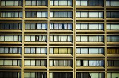 apartment windows by David Salafia, on Flickr