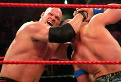 Kane and John Cena