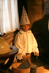 (Jacob...K) Tags: wood old school house mannequin hat america person south fake tourist southern americana attraction dunce
