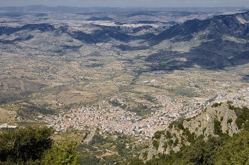 Nuoro: panorama dal monte Corrasi