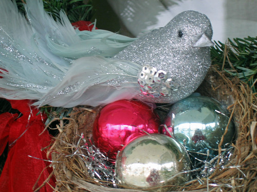 Little Christmas Robin's Nest