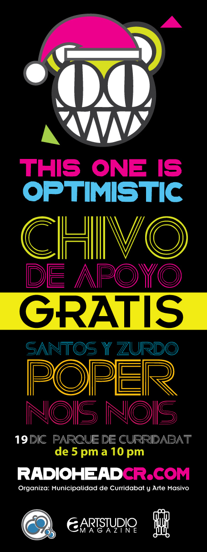 Radioheadcr invita chivo gratis: SANTOS & ZURDO+ POPER+ NOIS NOIS 3105003235_28bacf309b_o