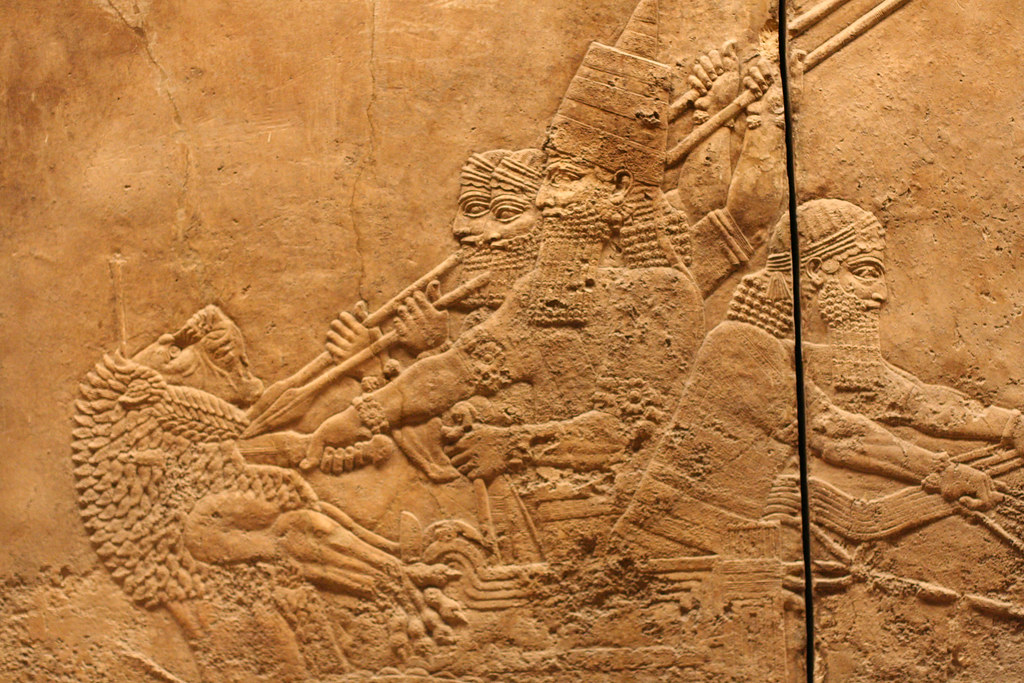 Royal Hunt, Noth Palace of Ashurbanipal, British Museum