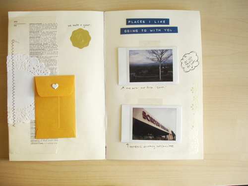 envelope book: three.