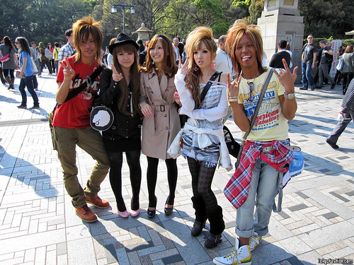 Harajuku Street Fashion Snaps – April 2009