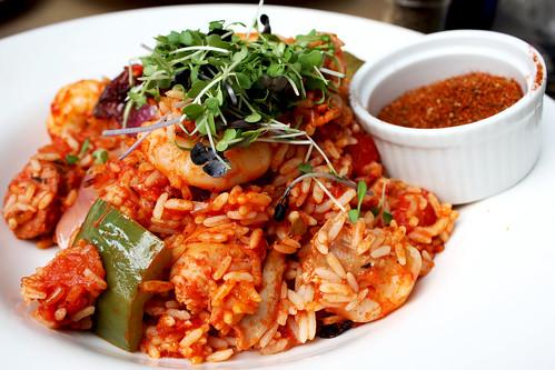 Chicken and Tiger Shrimp Jambalaya