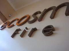 EcoSmart 3D lettering using X-Board