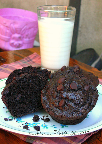 Sour Cream Chocolate Muffins