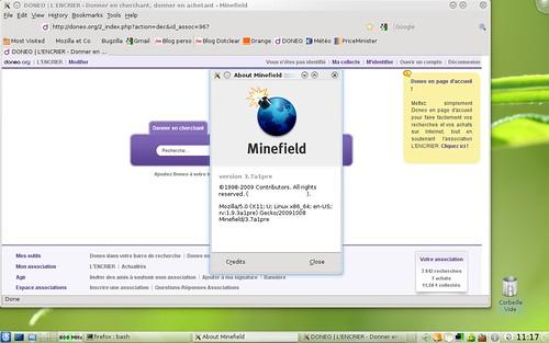 Port QT pour Mozilla Firefox...