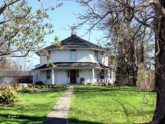Be on my Side (gabi-h) Tags: trees sky house ontario lawn walkway picton princeedwardcounty octagonal octagonhouse gabih