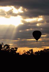 Early Morning Balloon Flight, Maasai Mara, Kenya