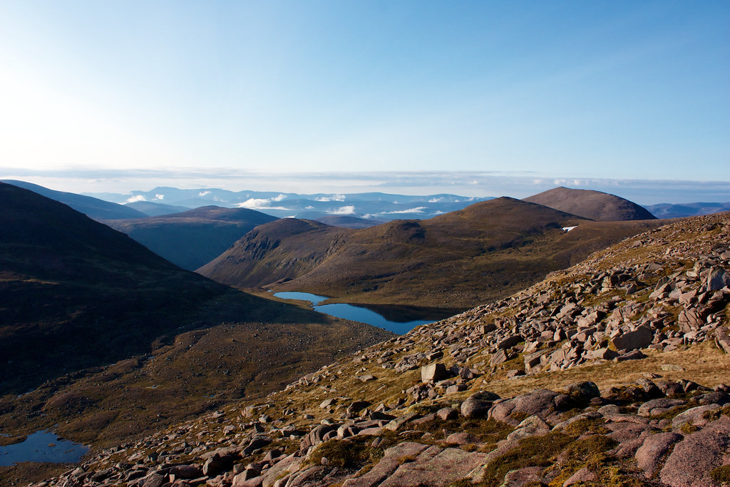 The Mount Hills and Loch Etchachan