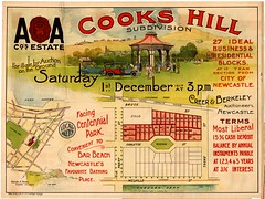M62 - Cooks Hill Subdivision Plan, Newcastle, Saturday 1st December, 1917. (Cultural Collections, University of Newcastle) Tags: newcastle australia nsw newsouthwales centennialpark lakemacquarie melvillestreet barbeach brucestreet porthunter hunterregion cookshill landsales corlettest residentialblocks sheddenpark aacompany subdivisionplans parryst tookest creerberkeley northumberlandpermanentbuildinginvestmentlandandloansociety businessblocks