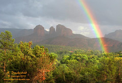 Oak Creek Canyon, Sedona - after the storm (PhotosToArtByMike) Tags: landscape sedona cathedralrock oakcreekcanyon redrockcrossing aarizona landscapephotograph enhancedphotograph scenicrainbow sedonamountains