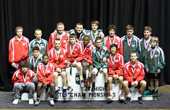 OAC Junior High State Finals 2014 (4Moorekids) Tags: school high wrestling junior middle graham oac longshot infocus highquality largegroup