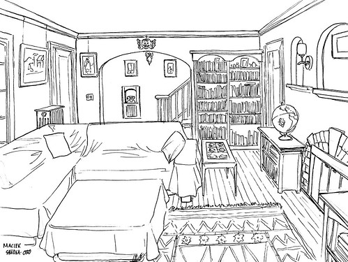 Perspective Drawing Perspective And Drawing Rooms On