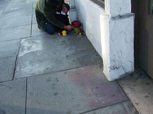Urban Finger Painting