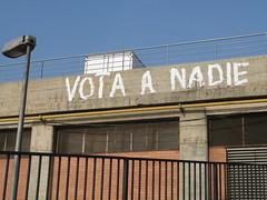 vótame (nadie en campaña) Tags: billboard rajoy valla politica nadie zapatero