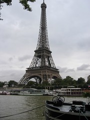 Eiffel Tower from across the Seine