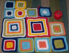 Babette squares - early March 2007